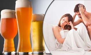 The effect of alcohol on male potency